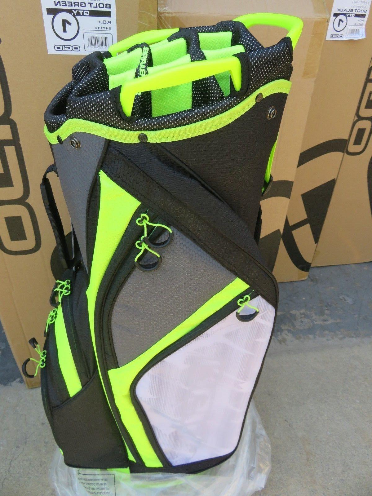 NEW * CIRRUS BOLT GREEN 16 Way Bag