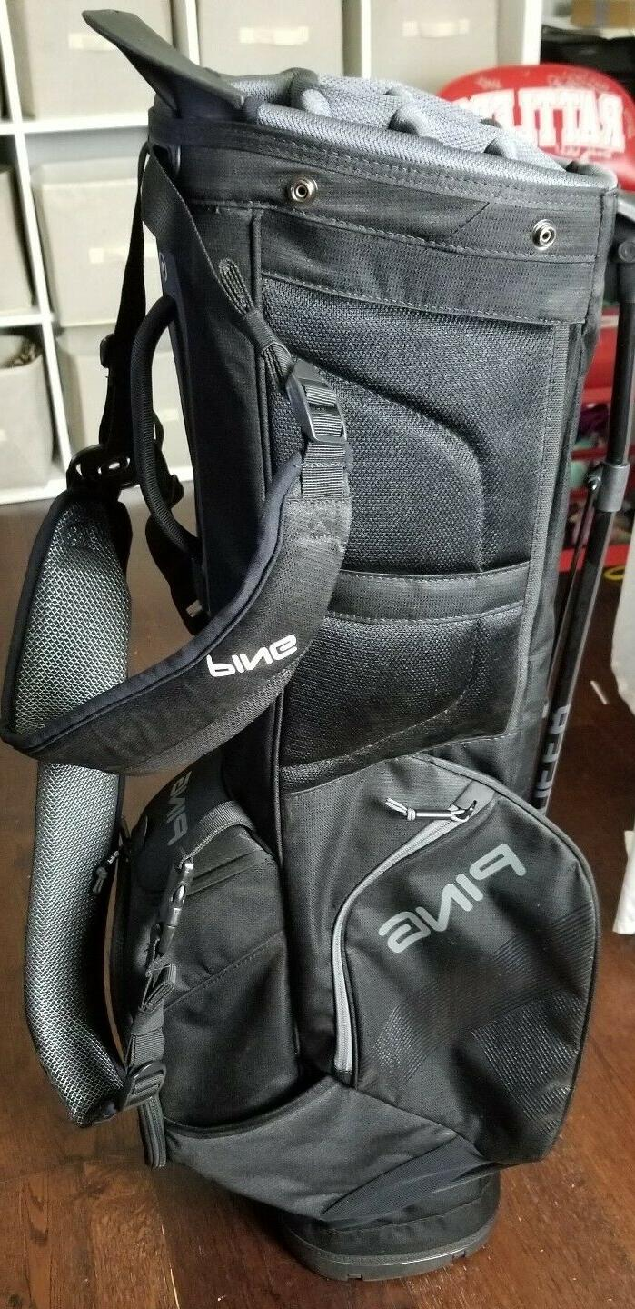 New PING 2018 14 Carry Stand Bag Black