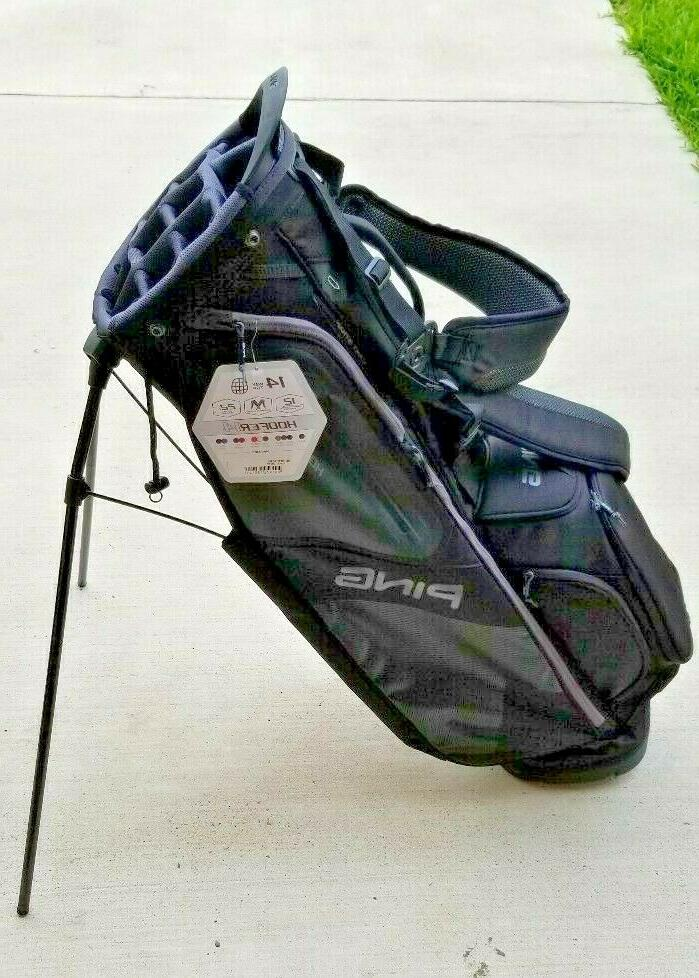 new 2018 hoofer 14 carry stand golf