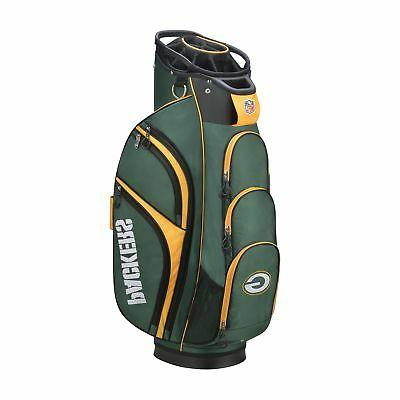 new 2018 nfl golf cart bag green