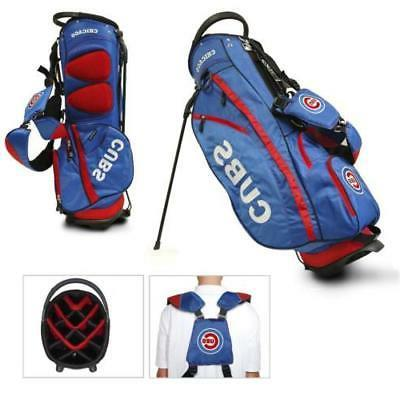new authentic chicago cubs stand golf bag