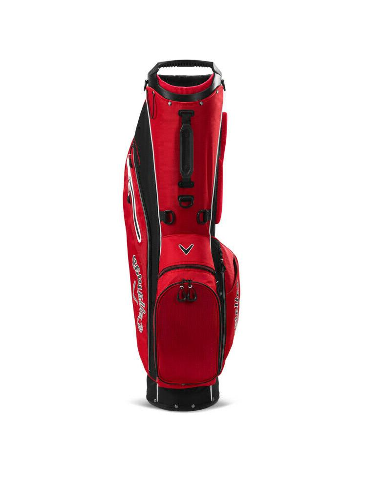 New 2020 Fairway Bag COLOR: Red with 4-Way