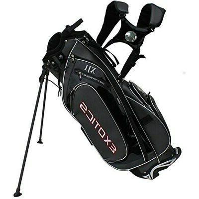 new golf exotics xj1 staff stand carry