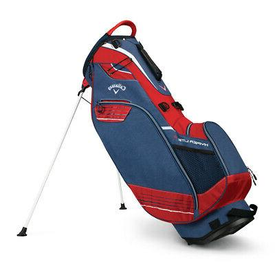 NEW Callaway Golf Hyper-Lite 3 Strap Stand Bag - Choose Color