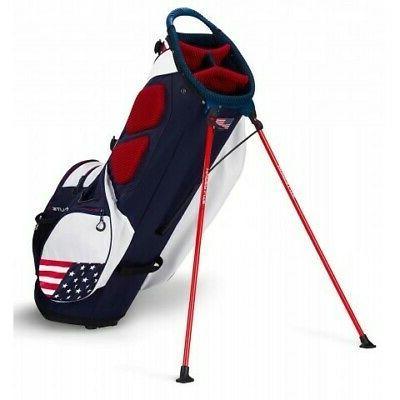 New Golf Edition Hyper-Lite Bag Navy/Red/White