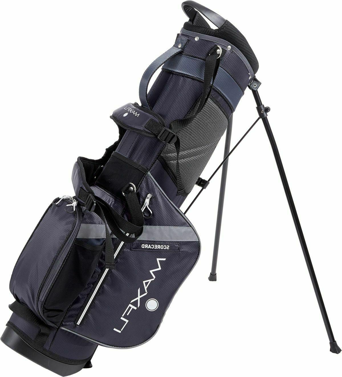 New Golf Bag Divider Carry Straps Black