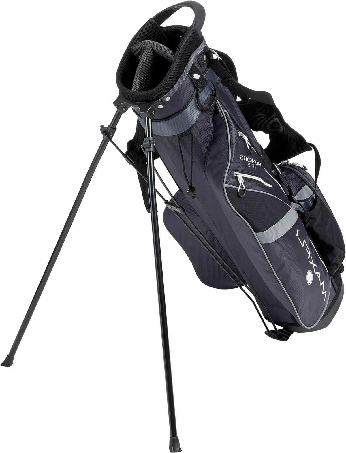 New Honors Sunday Golf Bag 3-Way Black