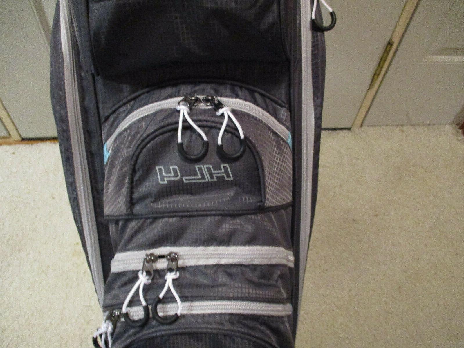 Launch HL4 Cart Bag-Silver