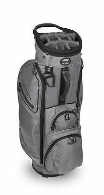 New Hot-Z Golf 3.5 Cart Bag Gray/Black