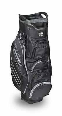 New Hot-Z Golf 5.5 Cart Bag Black/Gray