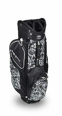 New Hot-Z Golf Ladies 2.5 Lace Cart Bag Black/White