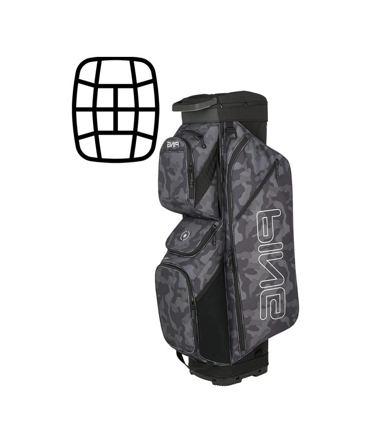 209new limited edition traverse cart golf bag