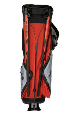 *NEW* Under Match Play Golf Bag Black/Grey/Red