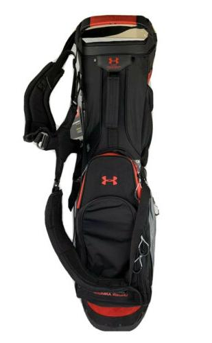 *NEW* Under Armour Men's Golf Bag 325219 Black/Grey/Red