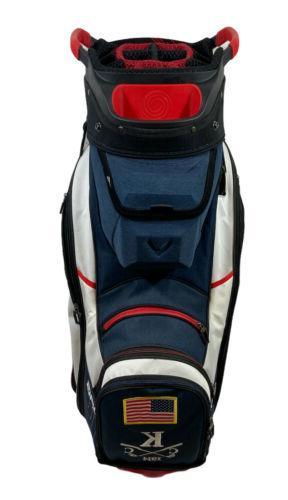 🥞NEW 14 #1 Golf Cart Bag - 2020 Red, & USA Club