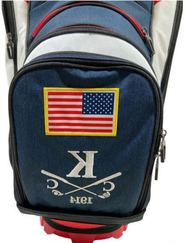 🥞NEW Callaway #1 Cart Bag - 2020 Red, & Blue Club