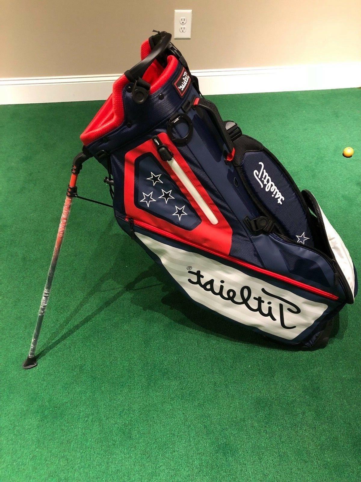 new players 4 usa stand bag golf