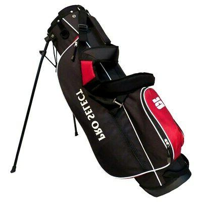 new pro select stand carry golf bag
