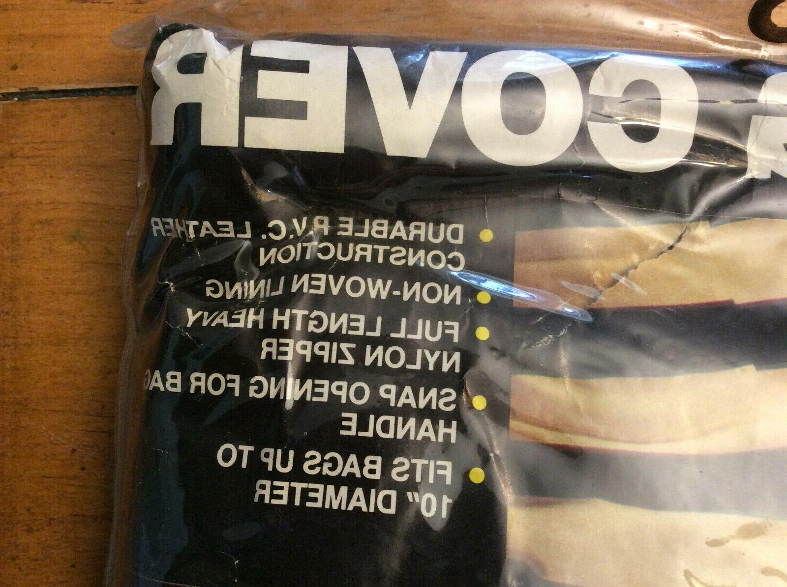 """pvc Bag Cover bags to 10"""""""