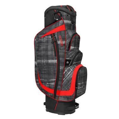 new shredder cart bag paranormal red