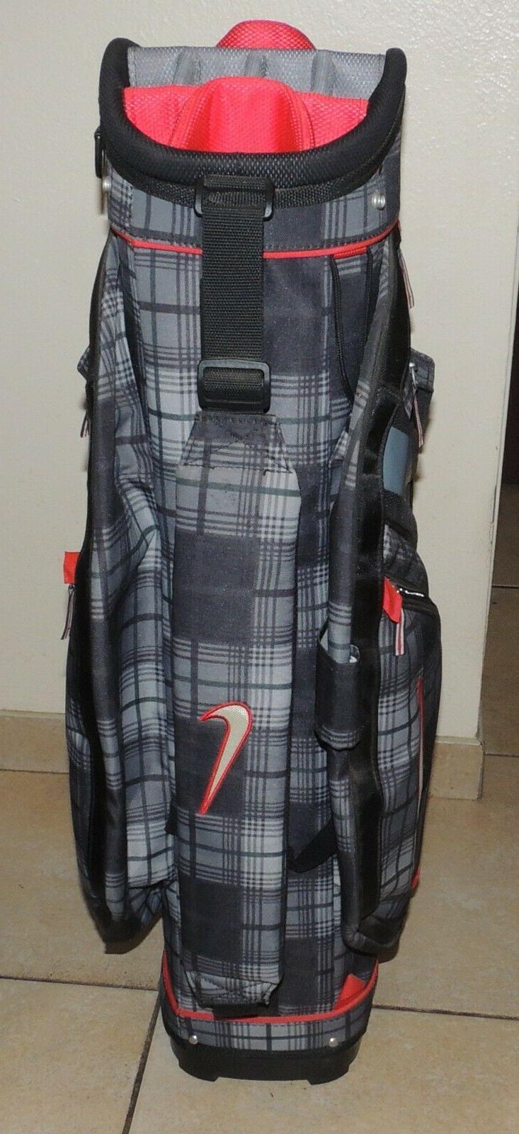 *NEW* Nike II Club Blk/Grey/Plaid Bag