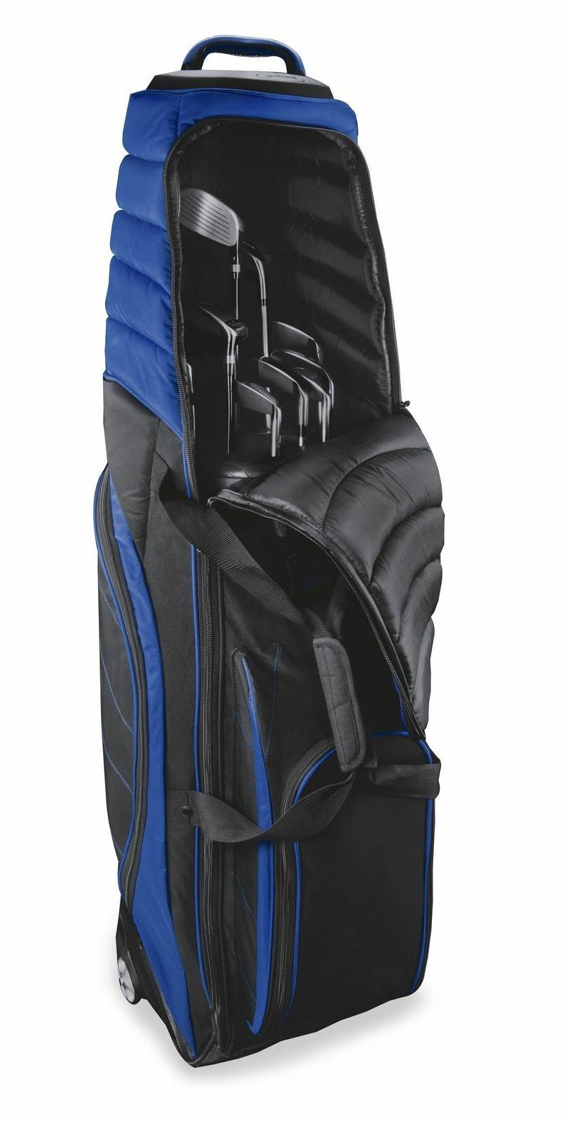 New Bag Boy Wheeled Travel Black Black/Royal