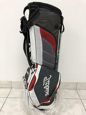 new ultra lightweight stand bag charcoal white