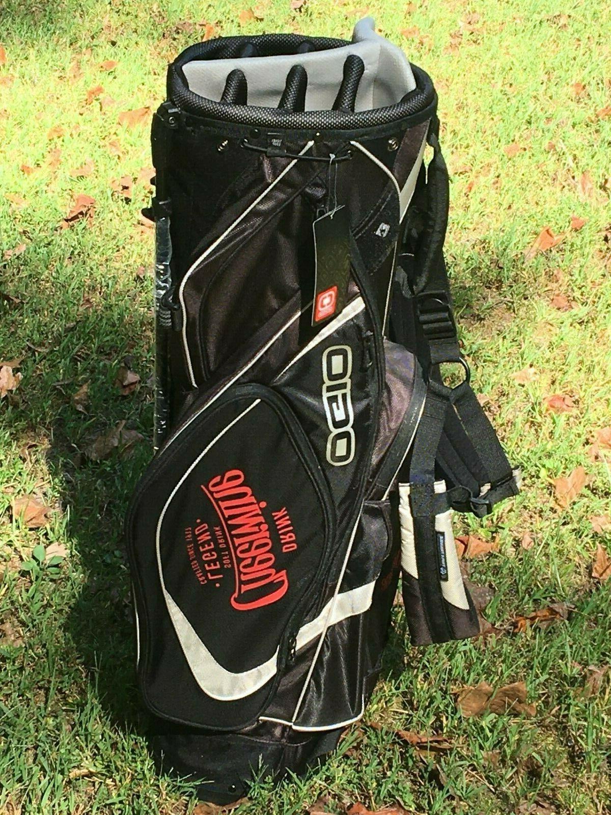 New OGIO Carry Golf Bag Logo Tags 8-Way Divider NWT