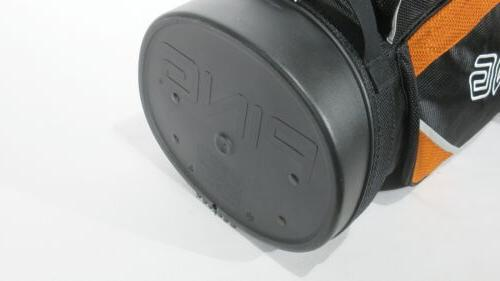 Nice! PING GOLF HOOFER LITE BLACK/ORANGE #262168