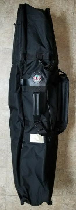 nwt executive 3 golf travel bag padded