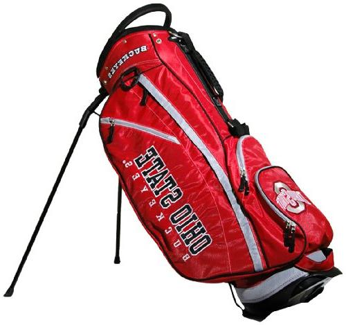 ohio ncaa fairway stand bag