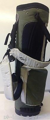 Nancy Lopez Olive Green / Black / Tan Carry Women's Golf Bag