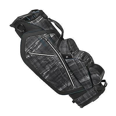 Diamond 6 Pocket/Cooler Golf Cart Bag, Sea