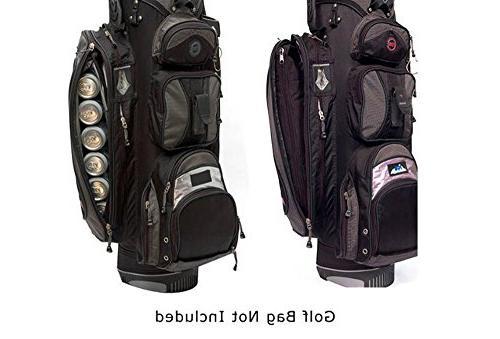 Caddyswag Par 6 Pack Golf Cooler With Flexible Freezer Gel Pack