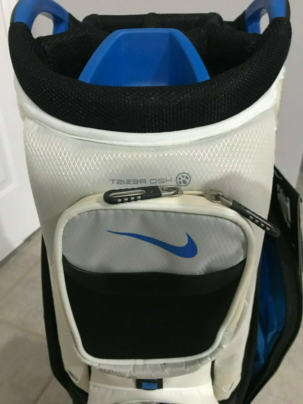 NIKE PERFORMANCE Cart II 2014 Bag w/Rain Cover Black NEW