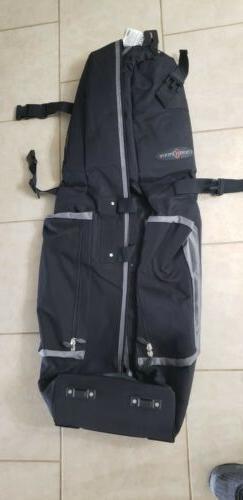 Caddy Daddy Golf Phoenix Golf Travel Bag - Black/Gray Golf B