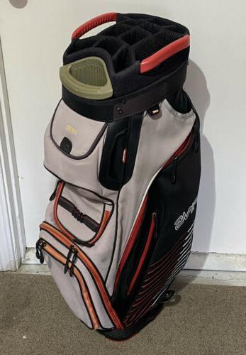 pioneer cart bag gray great condition 15