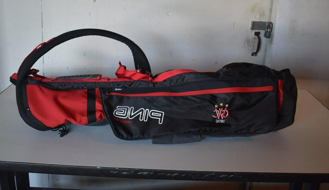 PRISTINE Ping Carry GOLF - RED BLACK - UNUSED