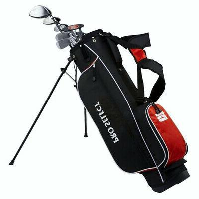 red complete golf set w