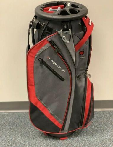 Bag Revolver Cart Bag COLOR Charcoal/ Silver