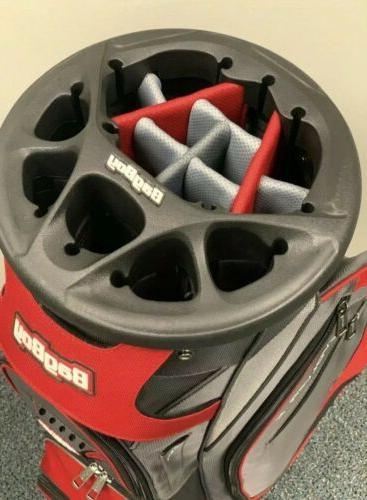 Bag FX Cart Bag NEVER COLOR Charcoal/ Silver