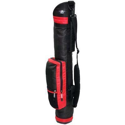 rj sports sun02 golf bag red duffle
