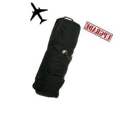 rolling golf travel bag club storage luggage