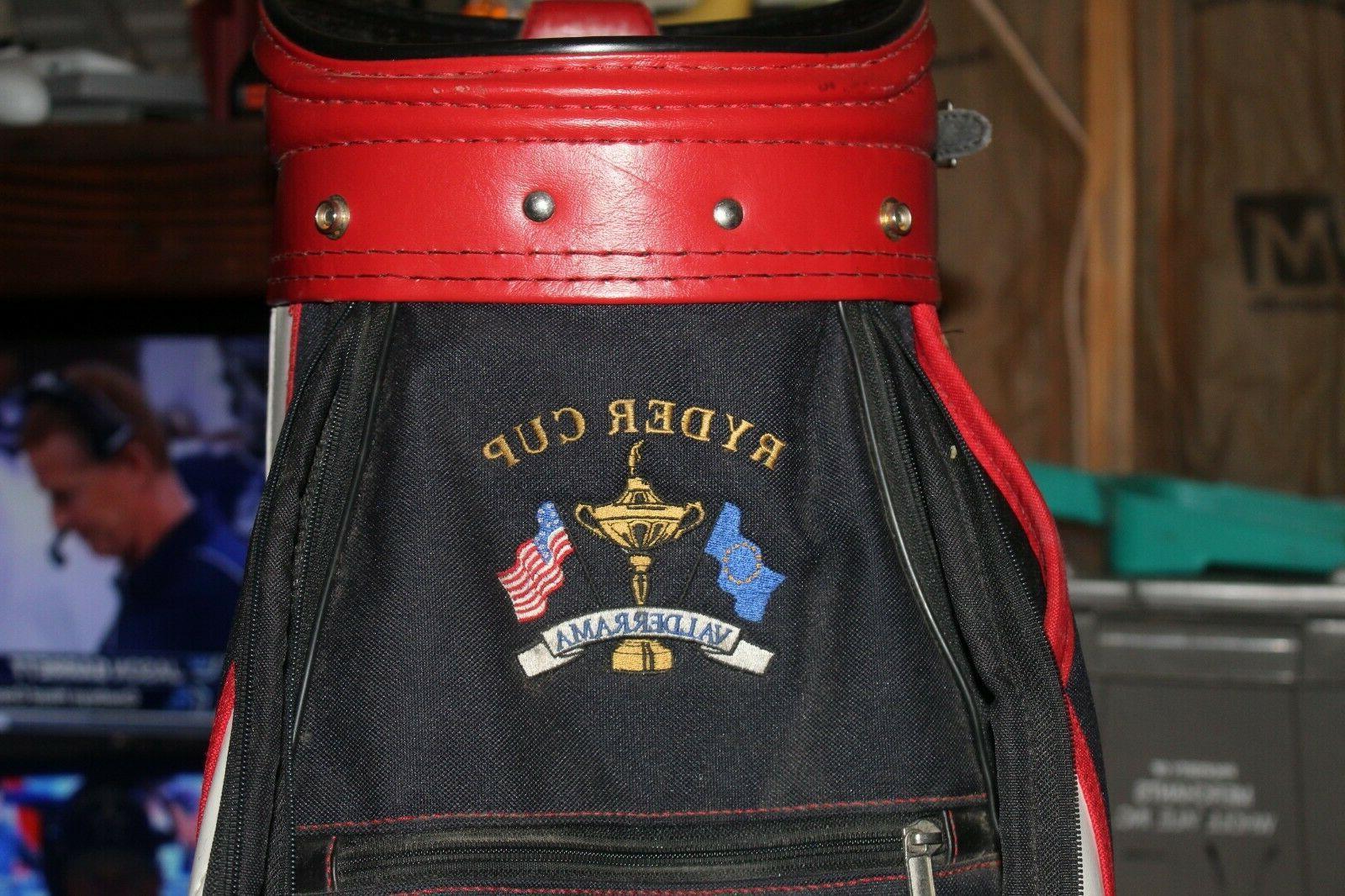 RYDER CUP VALDERRAMA GOLF BAG Miller Bags United State NICE!!