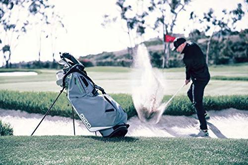 OGIO Fuse Golf Stand Bag, White