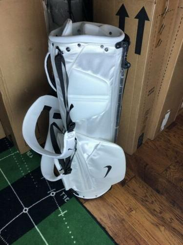 Nike Sport Golf Bag White Off