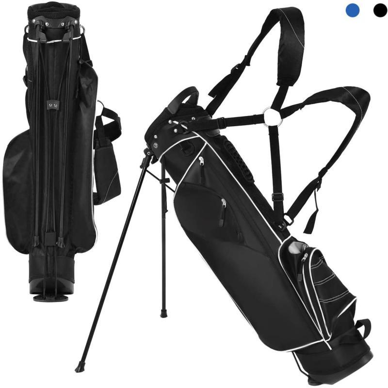 Tangkula Stand Bag Lightweight Organized Golf Bag Easy Carry