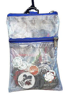 THE GOLF Strong clear golf tees accessories. Clips to Bag.