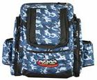 Innova Golf Disc Super Hero Backpack Bag, Blue Camouflage