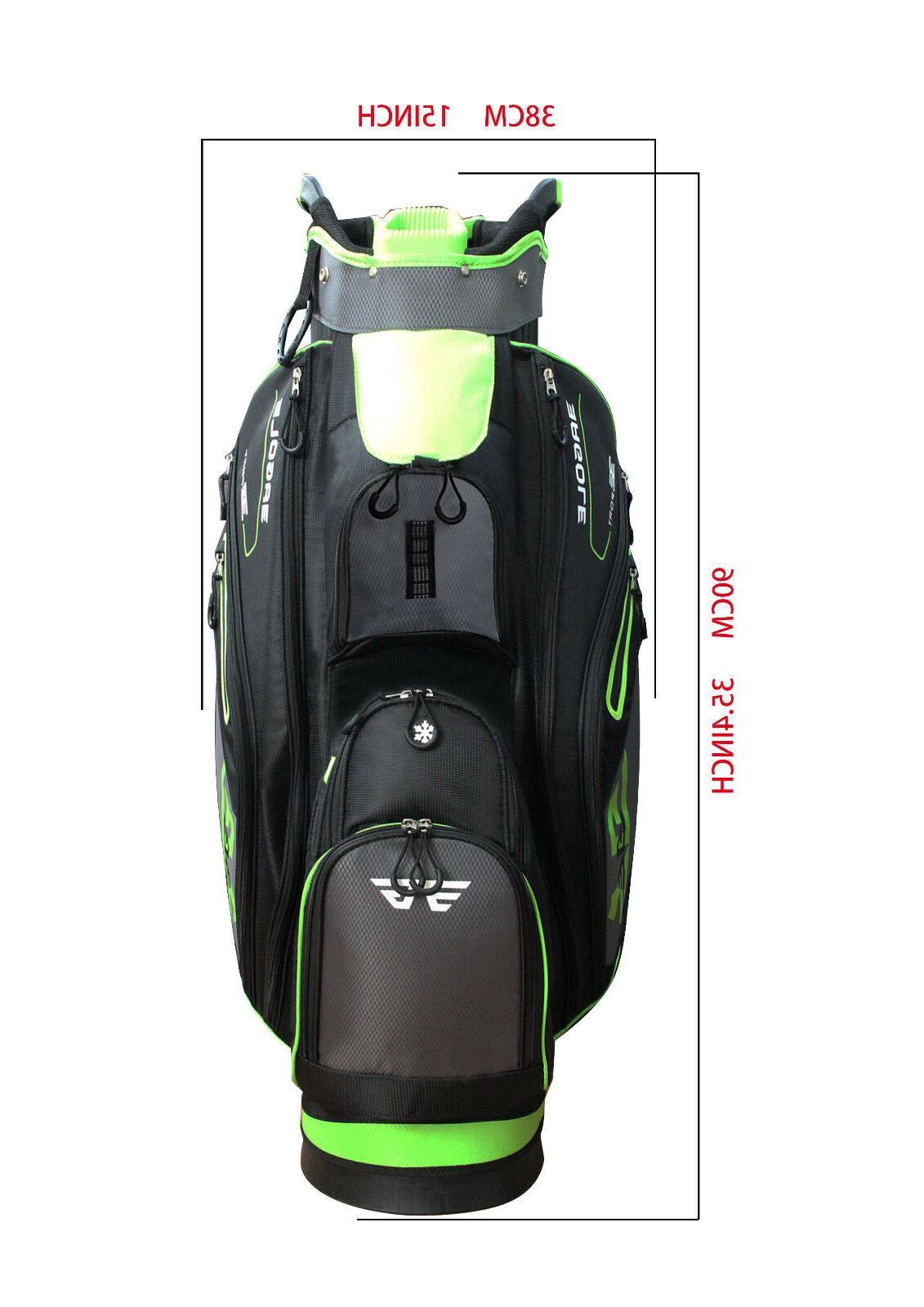 EG SUPER 5 Lbs, 9 Pockets TOP Golf CART